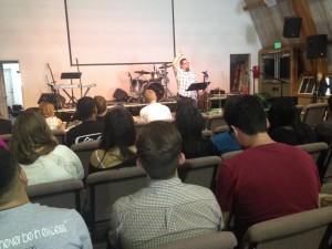 Bond teaching at CCWG summer retreat