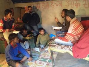 Sunday Service in the Village with Pradeep