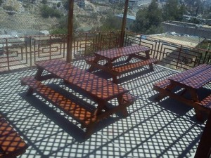 Our new tables