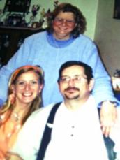 Dean, Julie and I -1st furlough from Uganda