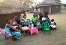 Jackie's Family in Sudan