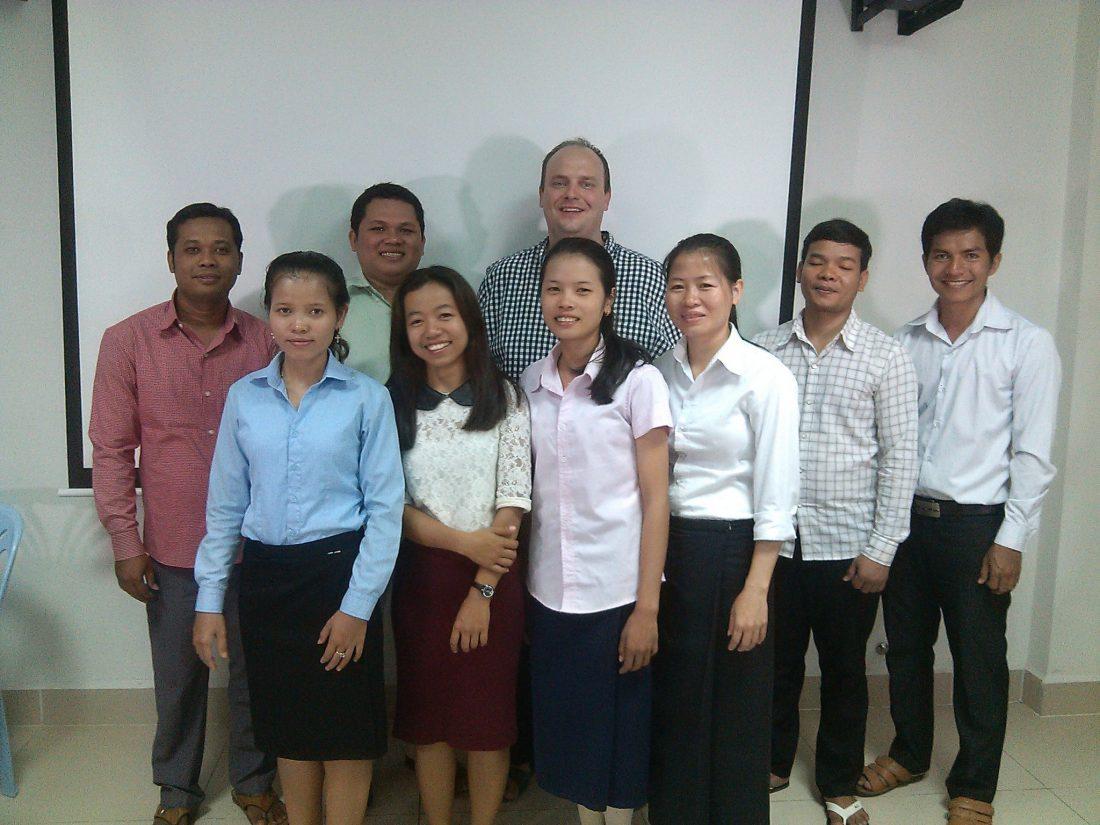 Cambodia Bible Institute Apologetics Class