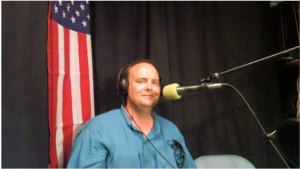 "Darryl on the ""He Is the Reason"" radio program."