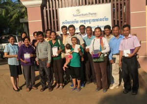 A Living Parable: Samaritan's Purse supplied tablets to Cambodian Pastors which include International Fisher's Khmer videos and resources.