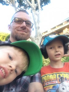 Daddy and his boys!