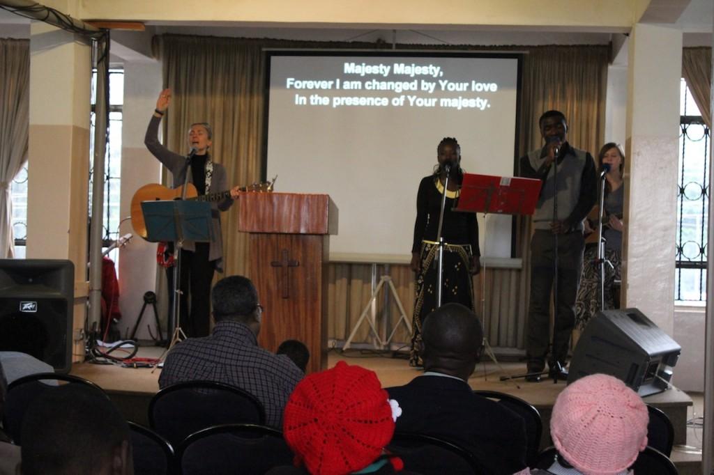 Sunday Service at Calvary Chapel Nairobi