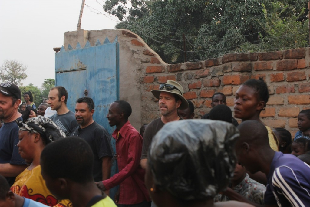 The men joined in on the choir practice of CCBaraka