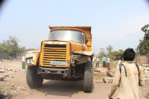 This Old Hino Dump Truck would bring our bricks, sand, and stone for constructing the perimeter wall of CCBaraka.