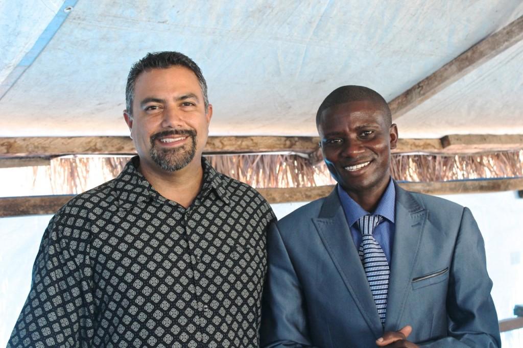 Pastor Dave an Pastor Ibrahim at CCB